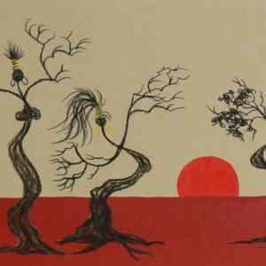 Sunset Gidgee Sisters 03.21