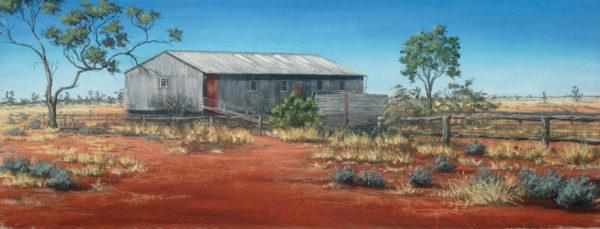 Pera Bore Woolshed