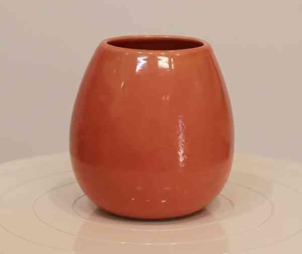 Colours of Lednapper - Red Orange Vase