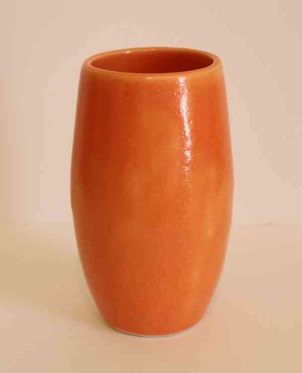 Colours of Lednapper - Orange Vase